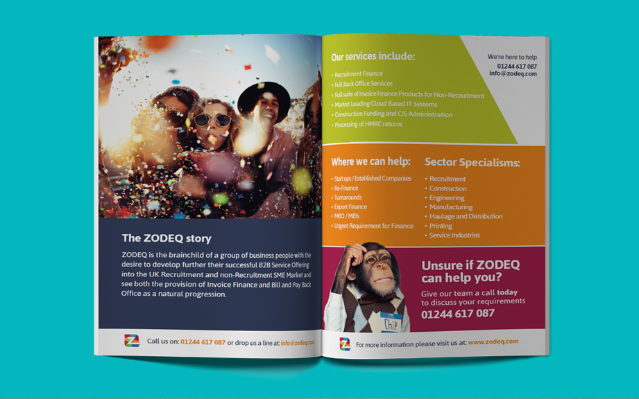 marketing brochure desgin