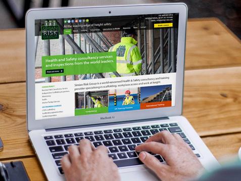 Simian Risk website