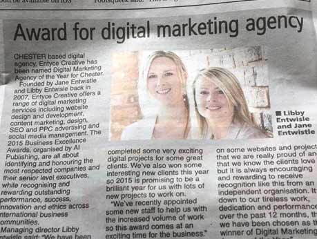 digital agency award