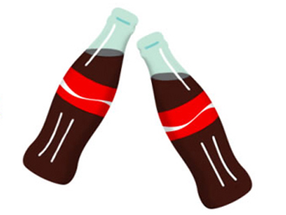 Coca cola emoji