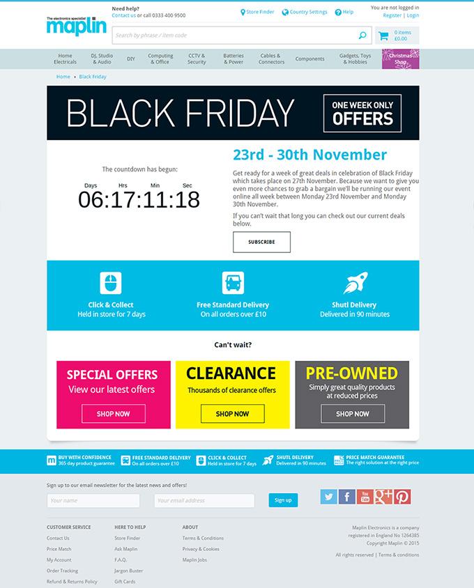 Maplin-website-black-friday