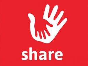 Entyce designs new charity logo for SHARE