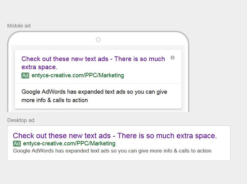 AdWords Mock Up