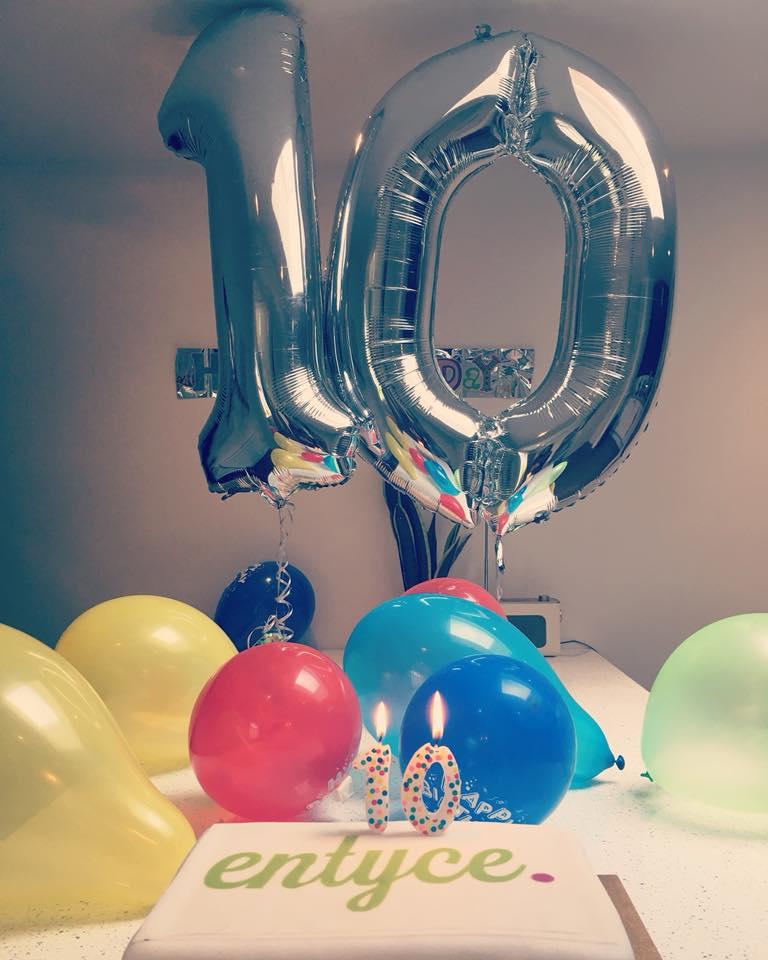 Entyce 10 year anniversary