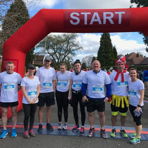 Entyce joins Exchequer and Zodeq to tackle Wilmslow Half Marathon