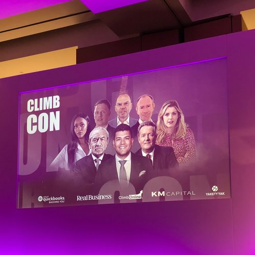 Taking a seat with Lord Sugar and Piers Morgan at Climb Con