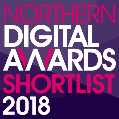 Entyce shortlisted for Northern Digital Awards