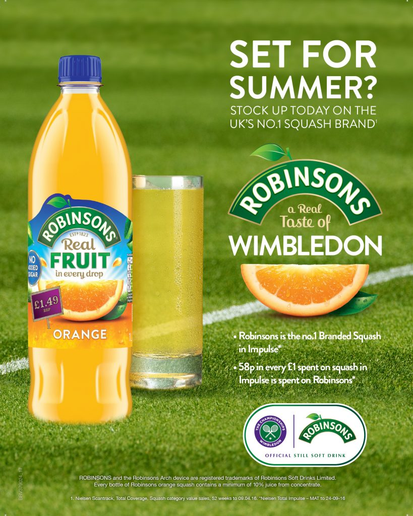 Robinsons & wimbledon