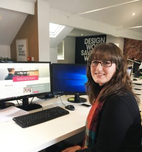 Designer Sam reflects on her time at Entyce