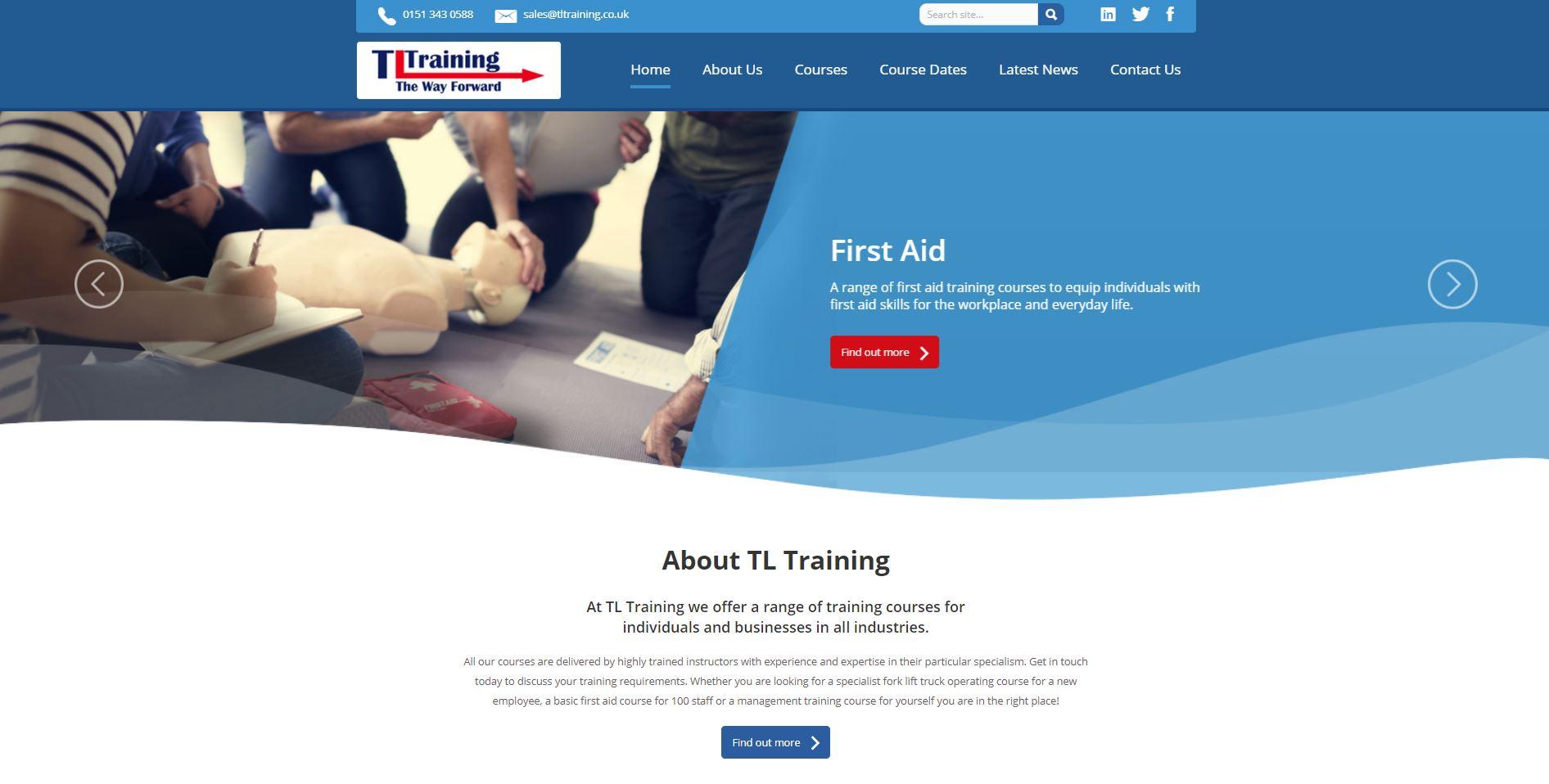 TL Training website