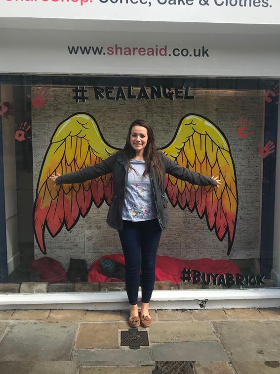 Real Angel Selfie - Carys