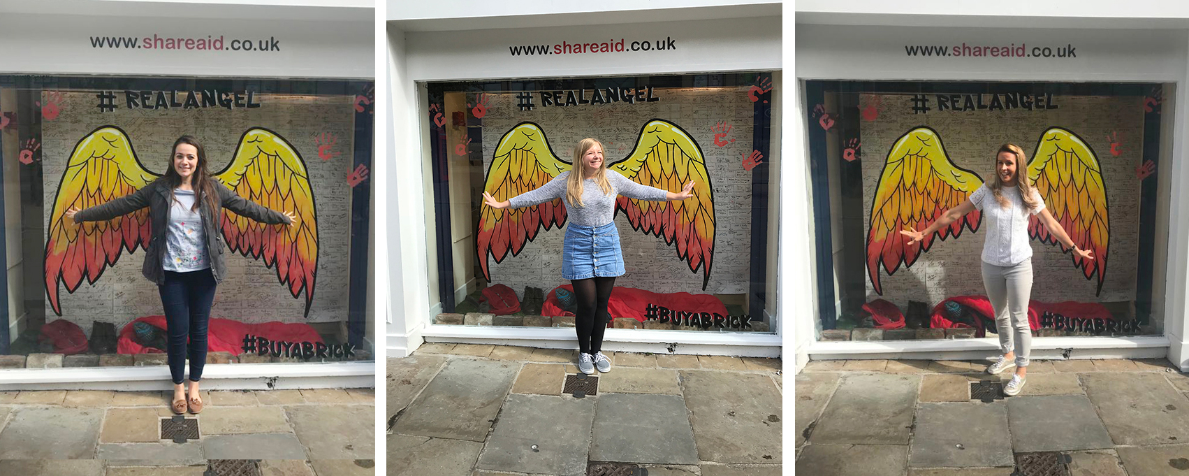 We 'share' our #RealAngel selfies with you